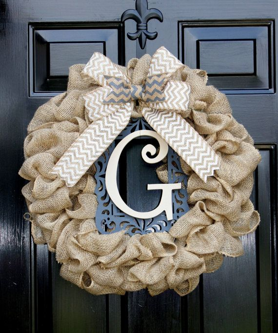 Burlap+Wreath++Etsy+Wreath++Summer+wreaths+for+by+OurSentiments,+$65.00