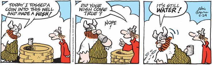 Comic hagar strip knows how