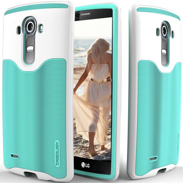 Caseology® LG G4 case [Wavelength Series] [Turquoise Mint]