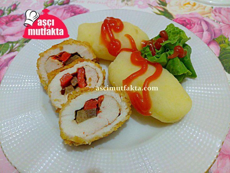 Sebzeli Tavuk Sarma ve Patates Püre Tarifi