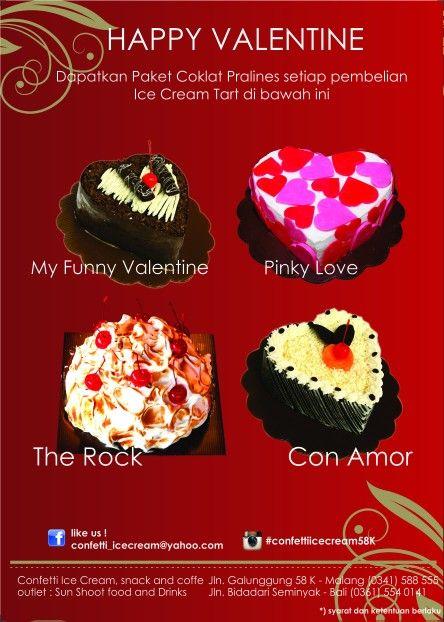 Confetti Ice Cream Promo on February 2015