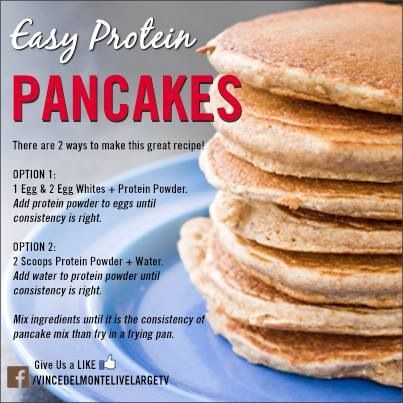 Best 25 pancake mix uses ideas on pinterest pancake batter mix easy protein pancakes protein powder and egg whites ccuart Images