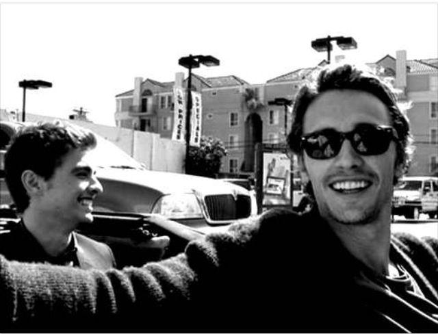James Franco and Dave Franco