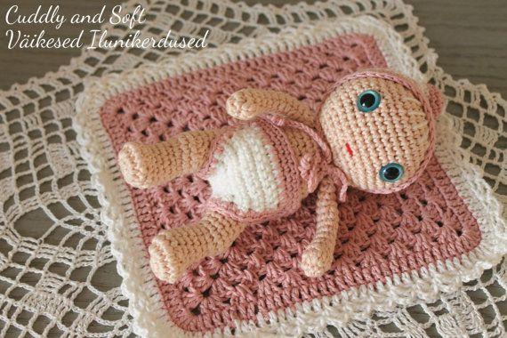 Little Baby amigurumi doll stuffed doll amigurumi by CuddlyandSoft #CuddlyandSoft