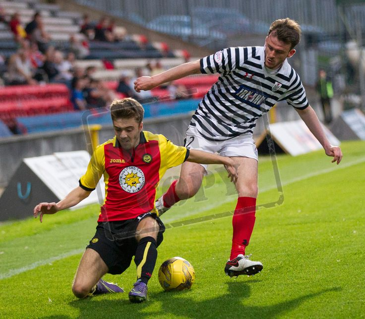 Queen's Park's Mark Williams in action during the IRN-BRU Cup game between Partick Thistle Colts and Queen's Park.