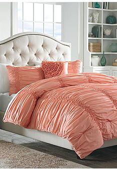 home cotton clouds coral bedding collection we have this set at work and i