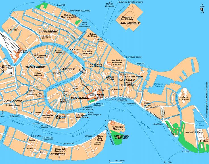 Carte Venise / Plan Venise