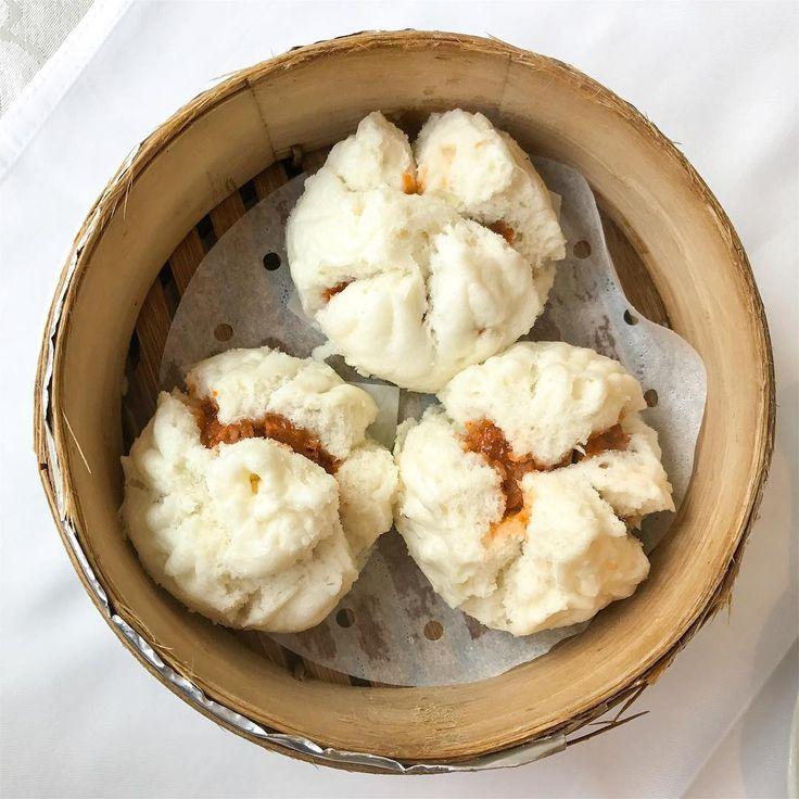 Baozi z wegańska szynką i oolong na śniadanie 😳🌪☕️🐉 #goodmorningtaiwan