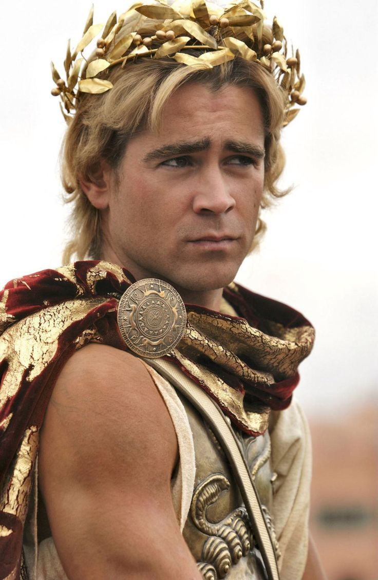 "Colin Farrell (Alexander III The Great) in ""Alexander"" (2004)."