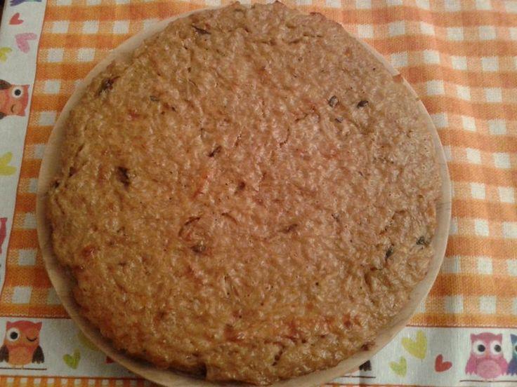 sformato di riso con funghi e scamorza (gluten free)