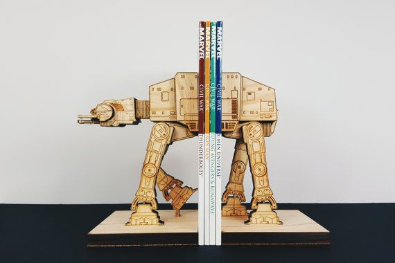 AT-AT StarWars Star Wars serre-livres livre fin par MokuShop