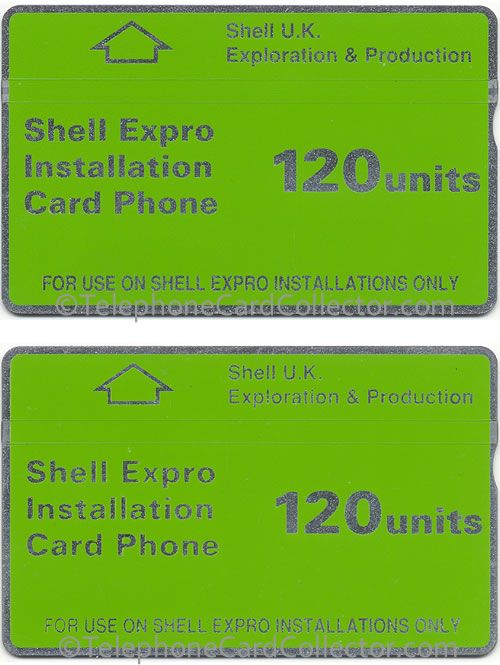 Printing error? The font size is distinctly different on these two cards. The bolder font (top) card control number is: 128A, while the card below is: 204B.