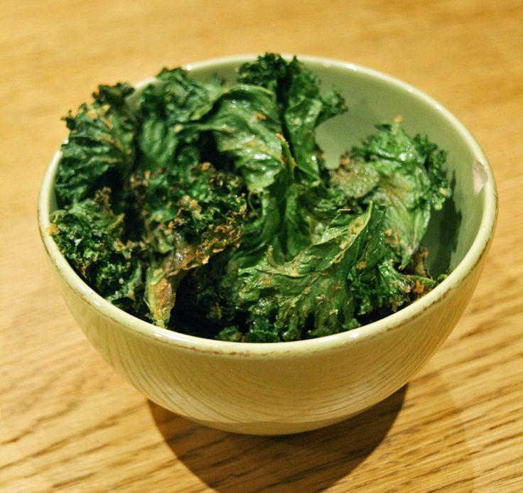 grønnkålchips <3