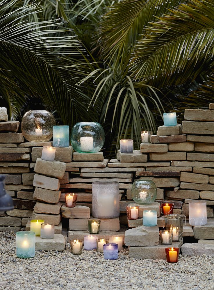 Summer Hurricanes and Lanterns from west elm.
