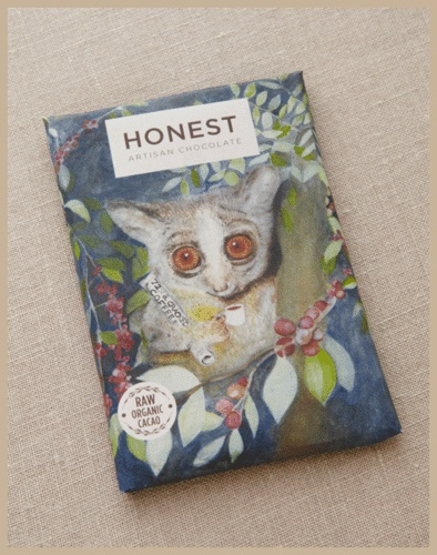 Honest Chocolate - Cracked Coffee Beans