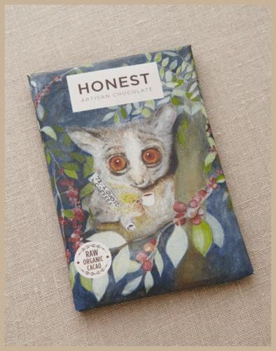 Honest Chocolate - Cracked Coffee Beans