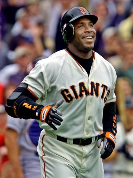 Barry Bonds, Giants -- 73 in 2001 The most home runs that anyone has hit in a major league season. Other Giants to hit 50 include Willie Mays (51 in 1955, 52 in 1965) and Johnny Mize (51 in 1947).