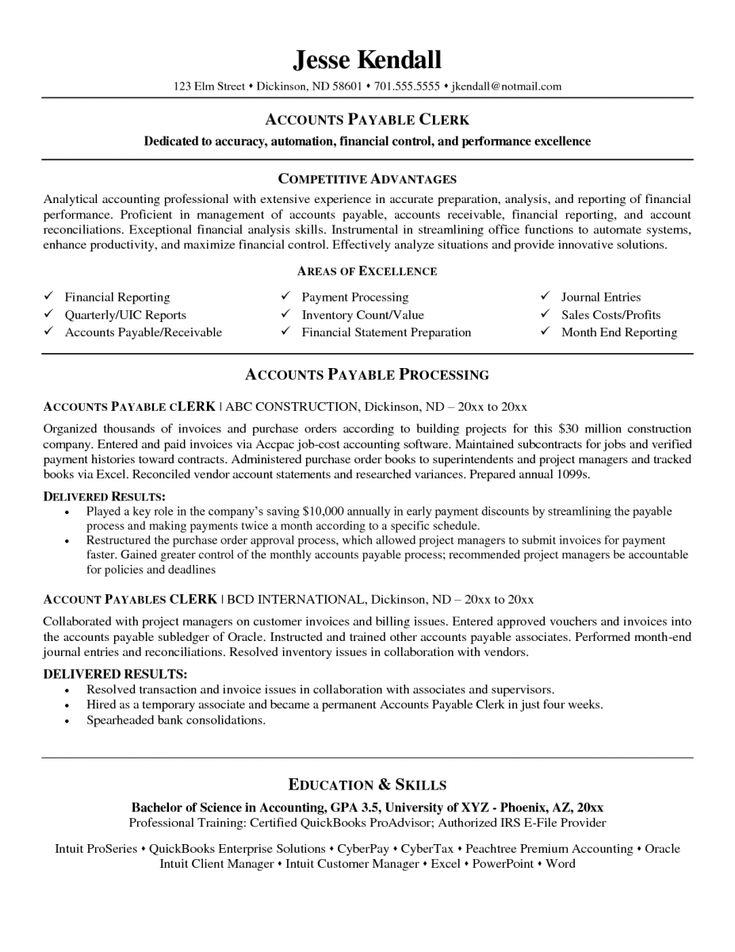 Entry Level Accounting Resume Examples  Resume Examples And Free