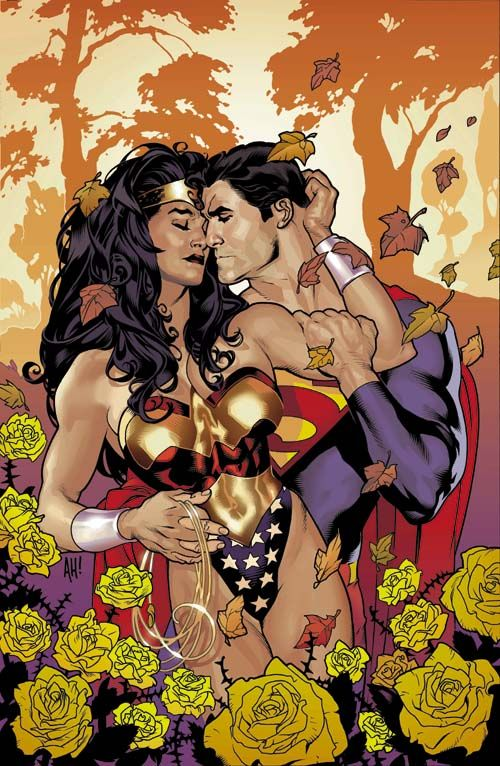 superman and wonder woman having sex naked