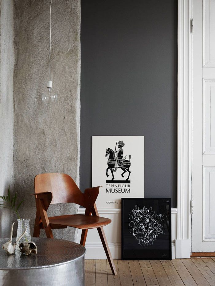 The Home of Calligrapher Ylva Skarp - NordicDesign