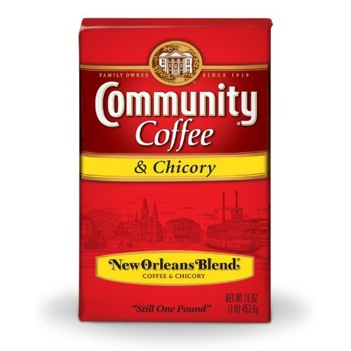 Community Coffee Ground Coffee, New Orleans Blend with Chicory..oooh wheeee!