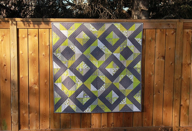 What a beautiful quilt! Ill need to venture out and try a more complex quilt like this sometime!