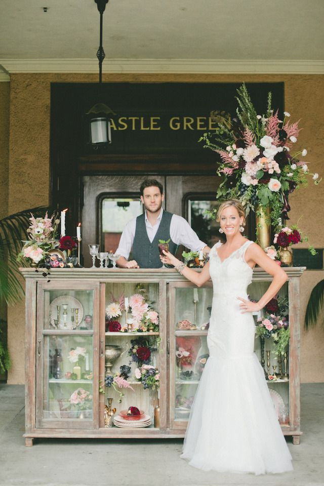 unusual wedding photos ideas%0A Most unique wedding bar   Onelove Photography   see more on  http