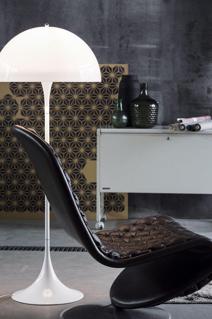 Panthella Floor • Danish Design by: Arne Jacobsen • Louis Poulsen.