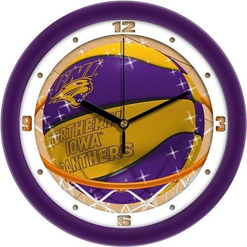 University of Northern Iowa Basketball Wall Clock