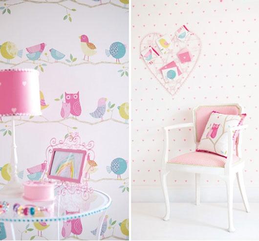 cool teen girls bedroom wallpapers decorating ideas - Girls Bedroom Wallpaper Ideas