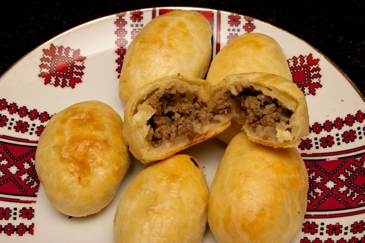 Ukrainian Beef-Filled Pyrizhky – Claudia's Cookbook