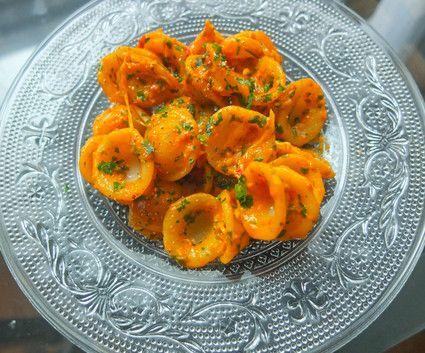 Orecchiette sauce poivrons rouges tomates