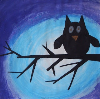 DREAM DRAW CREATE Art Lessons for Children: Valuable Owls - Grade 4