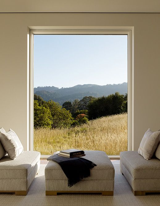 Simplicity. Modernity. Nature. Barn house interior by Walker Warner Architects, Portola Valley