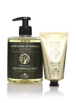 50% OFF Panier des Sens Organic Olive Oil Liquid Soap & Hand Cream, Set of 2