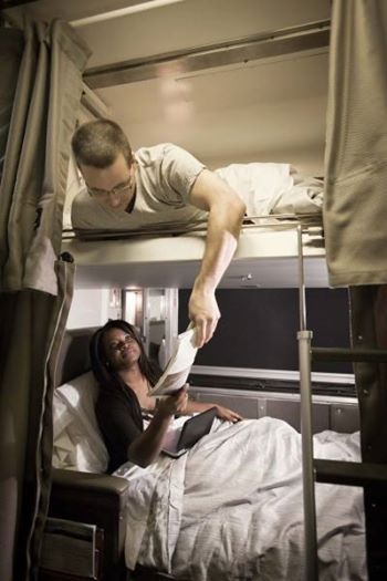 Enjoy modern comforts, dine in elegance and snooze in comfort while being onboard the historic rail cars of VIA Rail. #SummerConnection #VIARAIL #Travel