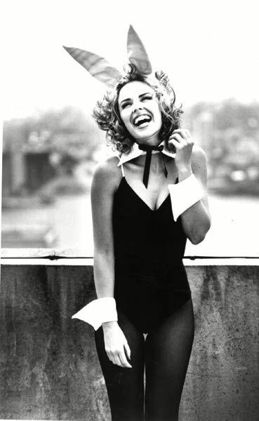 Kylie Minogue'shappy-go-luckyimageas the petite pop princess became infectious
