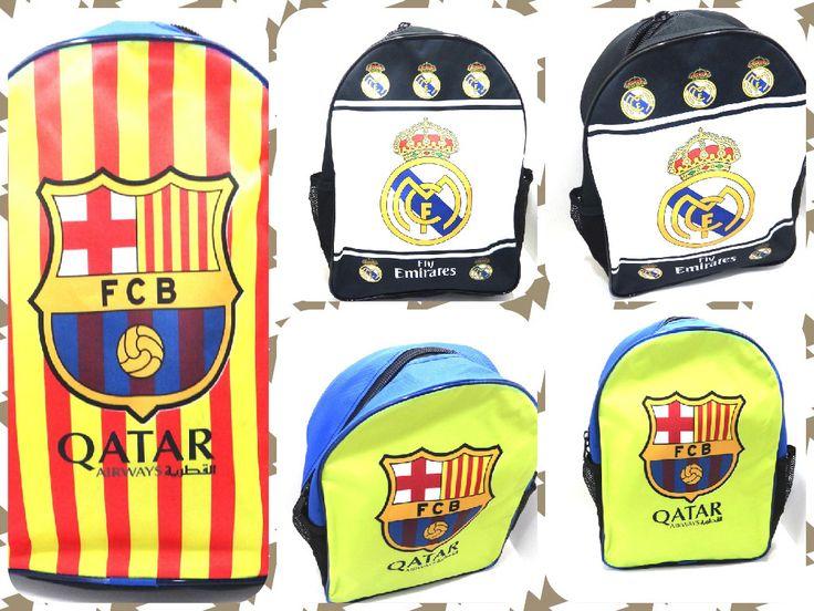 Para los mas pequeños y los no tan pequeños de la casa #RealMadrid #Barcelona #Futbol