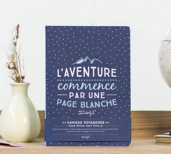 Carnets de voyage Mr.Wonderful