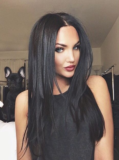 Natalie Halcro. She's a beauty. Love her hair even if it is extensions.