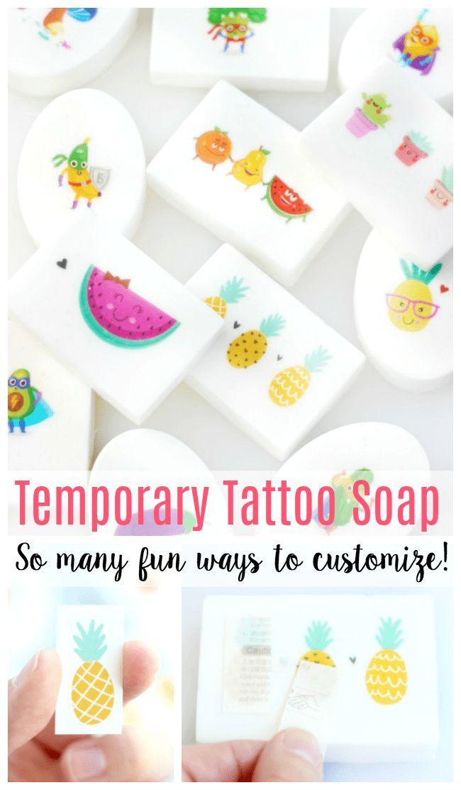 DIY Tattoo Soap Bars: So einfach für Kinder zu machen!