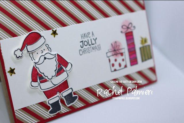 Stampin' Pals CTC150 #rachelpalmieri #stampinup #handmadecard #christmas #santassuit