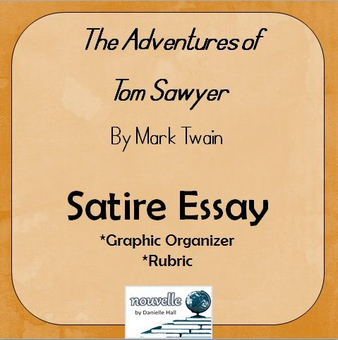 mark twain essays satire In the adventures of huckleberry finn by mark twain, there are many examples of satire written in it many say mark twain really defines how satire is used, and.