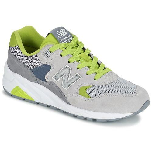New Balance WRT580 Cinza / Verde - Entrega gratuita com a Spartoo.pt ! - Sapatos Sapatilhas Mulher 98,40 €
