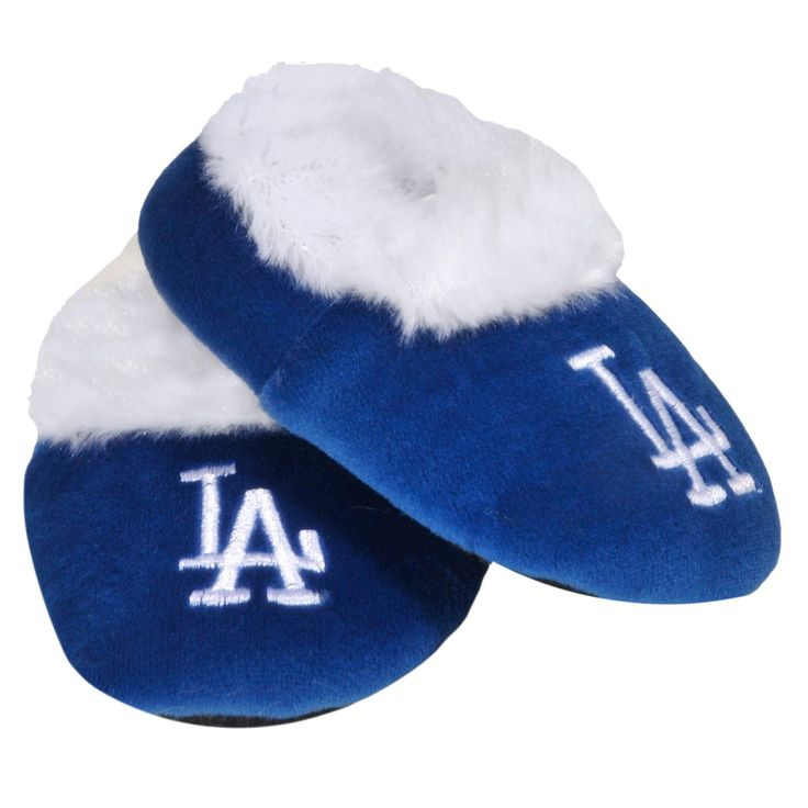 #LosAngeles Dodgers Official #MLB Baby Bootie #Slippers
