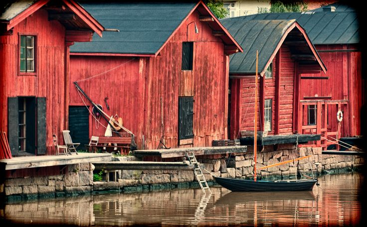 Porvoo. Finland. by Andrey Bodrov on 500px