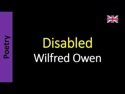 Wilfred Owen - Disabled