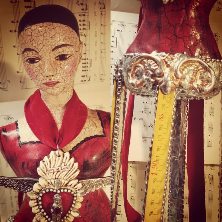 A Day In The Life Of A Jewelry Muse — Latest santos doll in the making - this one is...