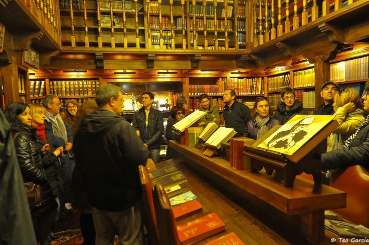 """4ª Bibliocata: en la """"biblioteca"""" de Bodegas Mocén, en Rueda (Valladolid, España)"""