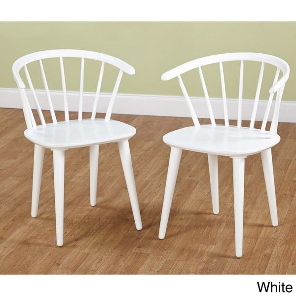 Simple Living Florence Dining Chairs (Set Of   16357220   Overstock   Great  Deals On Simple Living Dining Chairs   Mobile